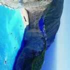 #太阳的后裔#美女游希腊,邂逅沉船湾!上帝将最美的蓝都撒在了这里☺ #带着美拍去旅游##我要上热门#