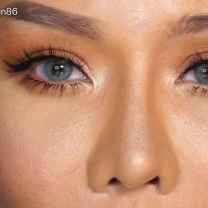 cata.q86 九色眼影 自然眼妆教程