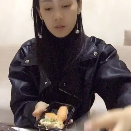 今晚吃寿司🍣✌️✌️✌️超级满足#万圣变妆趴##全民吃货拍##吃秀U乐国际娱乐#