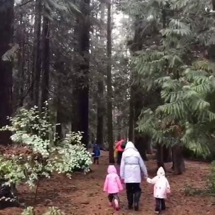 我俩今天的日常 大风大雨 从早到晚就没停下来 送Ethan去幼儿园的时候 雨下的正大 孩子们都穿防雨装备在外面玩 我走的时候 老师带孩子们去后山了 小哥今天又累的不行😂#幼儿园##日常##游戏#封面看不到小哥 跑没影了😜