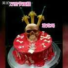 #美食##甜品##万圣节#剑是巧克力,头,是蛋糕,红色,是镜面,敢吃吗?如果敢吃,点个赞,大家那个城市的,我长沙的