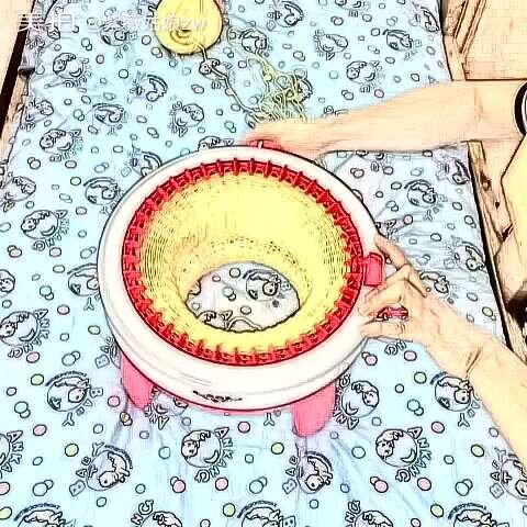 #手工#织围巾-鼻子手工-紫薇视频zw的美拍姑娘视频变小图片
