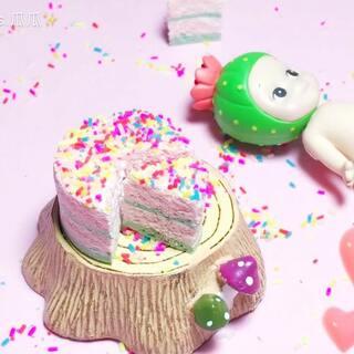 #手工#超甜的蛋糕我只想和你一起分享❤️如果你学会了记得留言点赞告诉我哦,视频中用到的是cando纸粘土好切不混色。转发评论点赞抽一位送同款纸粘土~炸评最多送转发🐒