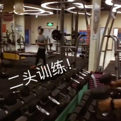 二头训练教程!#运动##健身#@美拍娱乐 @美拍小助手
