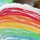 小仙女专属彩虹蛋糕#美食#