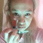 恐怖鬼護士誰要打針呀 #萬聖節##直播化妆##美发師#