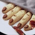 #万圣节搞怪食谱#教你做万圣节女巫手指饼干,有点鬼片的感觉,胆小者勿入!😀