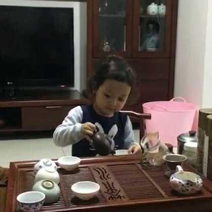 温柔的小女子😁😁😁#萌宝宝##宝宝成长日记#