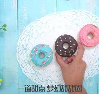 非油炸甜甜圈美味与颜值并存#魔力美食##双鱼座##甜甜圈#