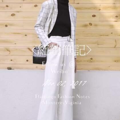 手把手教你如何穿好今年最潮的格纹西服 想看图文版,关注VX号:honghebiji