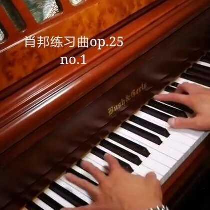 肖邦《降A大调练习曲》op.25 no.1,天爱爸爸演奏。此曲难度不大,但非常优美。别名《竖琴练习曲》或《牧羊人的笛子》#音乐##钢琴##热门#@美拍小助手