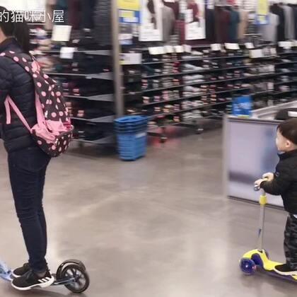 滑板少年🛴😎我都快追不上他了😅#帅帅成长记##宝宝##运动宝宝#