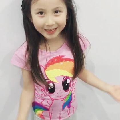中文好像被你们老师带偏了😂😂😂#宝宝##音乐##糖小希#
