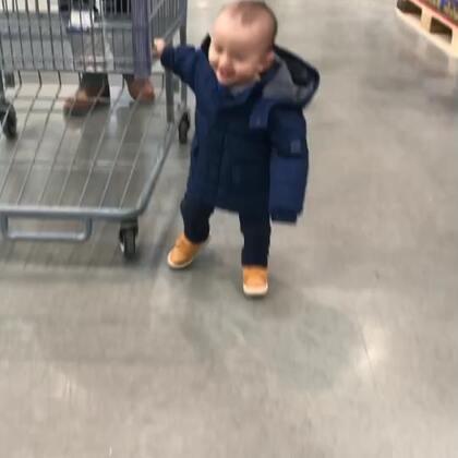 只要到了超市,就疯了!frank400天了!
