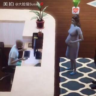 #游戏##模拟人生4##生孩子#完了 要生了 跑去医院结果没有医生😫@美拍小助手