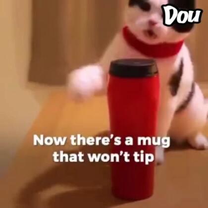 #玩转科技#黑科技来了!Mighty Mug 推出一款不会倒的水杯,独创的专利技术原理不是吸盘也不是磁力,而是一种全新的技术让杯底形成了一道强力气阀。当杯子受到了横向的外力,气阀处于关闭状态,杯子有强力的吸附力,所以就像不倒翁那样不会倒。而当杯子受到一个垂直向上的力,气阀便会自然而然地打开