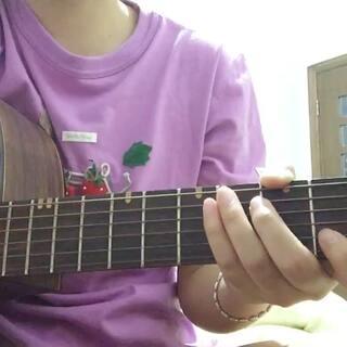 #鱼仔##卢广仲##吉他弹唱##初学吉他#刚学会的歌,扒了和弦,有些听起来还是有点不顺。😄