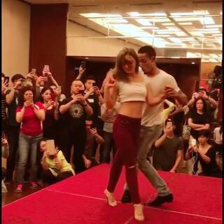 😈#上海#4th 上海 Bachata舞蹈节💃大师现场教学