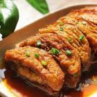 茄子鱼❤️#慧慧下厨房#让茄子变身鱼肉味的一道美味家常菜!家里人都说好吃😜这个做法强烈安利给大家~不好吃你来打我😆#美食#【本期福利:转评赞抽2个宝宝送同款菜板吧😘😘】