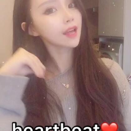 #《heartbeat》##陪着你走##女神#啊。有多录一个。发货发到头疼💆库存来一波@美拍小助手 @高颜值频道官方号