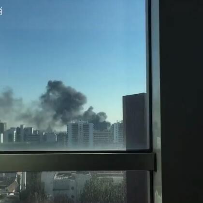 #北京##火灾现场#着火了,保佑平安。