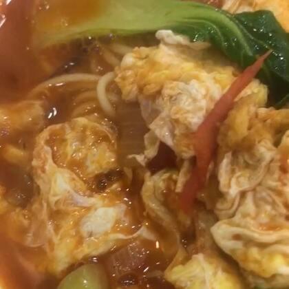 热喷喷的鸡🥚西🍅面!#美食##吃秀##锅儿姐就不嚼#