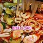 #美食##热门##酸辣土豆粉#