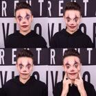 #化妆教程#身体恢复的差不多了,我要画一个小丑的集合,对,就是这样!点点赞,我看还有多少人在😂