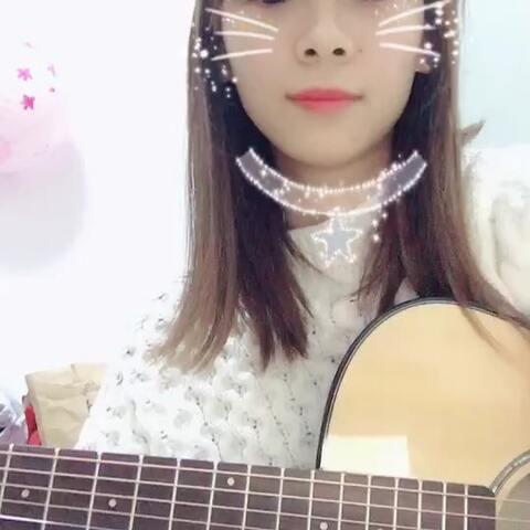 吉他弹唱 人生第一首吉他弹唱 安河桥 pipi酱和圆圆酱的美拍