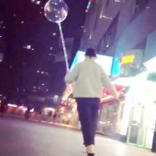美丽的气球🎈#长板#@长板薛妹儿