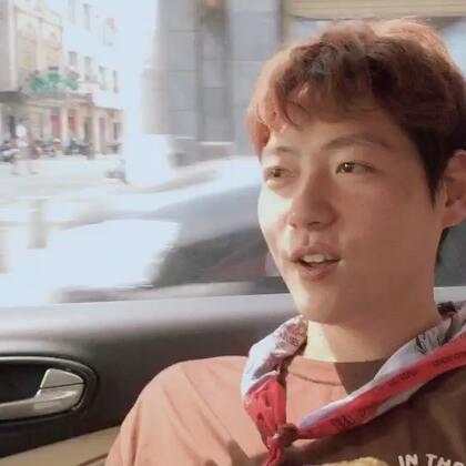 韩国欧巴正在学着东北话儿😂