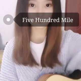 #five hundred miles##吉他弹唱##U乐国际娱乐#