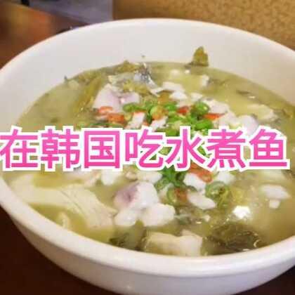 凌晨二点突然想吃水煮鱼,醒来就拉老公来这家四川餐厅,餐厅老板问我老公是不是台湾人,说他的中文是台湾口音😭😭😭其实我老公生气时的中文语无伦次,根本听不懂说的啥😂😂😂#美食##吃秀##韩国##我要上热门@美拍小助手##日志#