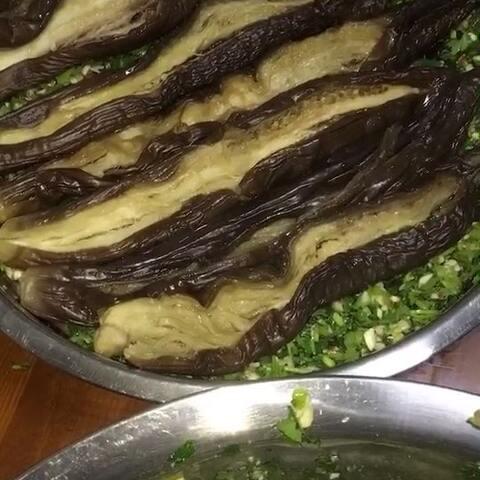 #视频##腌制蒜美食##茄子#-美食大全-昂昂溪播放器咸菜视频图片