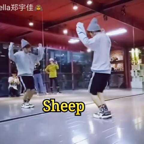 羊Sheep-张艺兴 (片段) 舞蹈动作镜面教学 by U