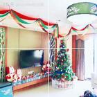 这是圣诞节的巨大圣诞树,这圣诞树是我布置的的哦。