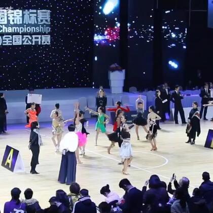 第一次挑战的14岁B组恰恰舞(背号556绿色裙子的)#2017第31届CBDF全国锦标赛##舞蹈##拉丁舞#
