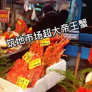 #日本自由行#筑地市场海鲜超级新鲜的~筑价格也很合适😋😋可惜我不能吃~某人吃爽啦😊#美食##我要上热门#