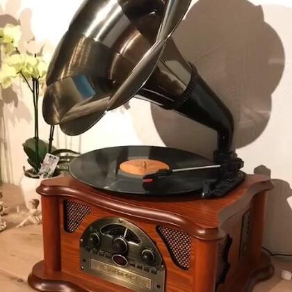 我的新玩具!生日前收到的第一份礼物,开心,喜欢。#音乐##怀旧老歌##怀旧##怀旧复古#