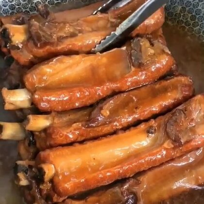 #手扒排骨##热门##美食#喜欢双击加关注,每天分享美食教程,谢谢支持……