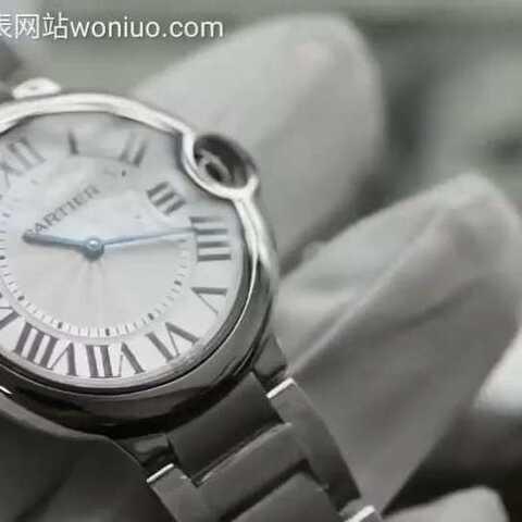 【蜗牛名表woniuo.com美拍】V6厂乱真作品36mm石英蓝气球❗ ...