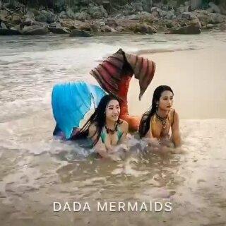 有些美只因独特而动人🧜♀️#DadaLi##美人鱼##美人鱼尾巴##自由潜水##U乐国际娱乐#@Dada美人鱼军团