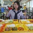 校园特辑之四川师范·丢失吃货的尊严,让吃货朵一害怕的菜名竟是它?😲#大胃王朵一##吃秀##美食一朵朵#