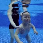 这表情简直了、大了反而难练习了20m20d#宝宝潜水#