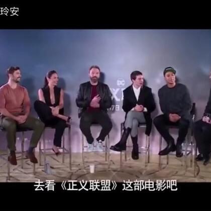 主持CCTV6 佳片有约。对话#正义联盟##神奇女侠##盖尔加朵#