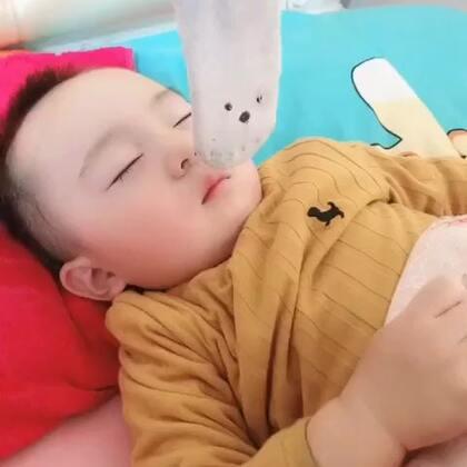 😂😂天天懒床 #宝宝#