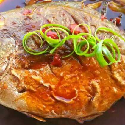 红烧鲳鱼 好吃 做法不算难 试试吧#美食##营养早餐表##红烧鲳鱼#@全娜拉 @美拍小助手