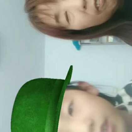 #全民扣绿帽#和奶奶扣绿帽