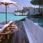 马尔代夫自带网红属性的酒店,直接滑梯入海!好想去这里度假!😍