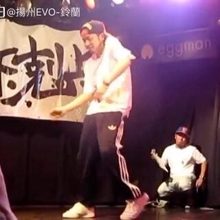【鈴蘭 每日推送】 akihic彡 さんjudge move -下剋上vol.13 HIPHOP side @EVO-鈴蘭_百搭 @扬州EVO街舞工作室 #我要上热门##舞蹈##街舞#